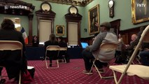 New York City Mayor Bill de Blasio considering shelter-in-place order to combat COVID-19 pandemic