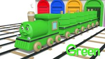 Colors For Kids To Learn With Toy Trains, Cookies, Bee Children Preschool Colors Videos Collection