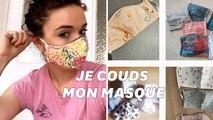 En plein coronavirus, comment réaliser un masque en tissu soi-même?