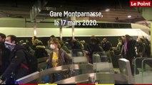Confinement : les Parisiens se pressent de quitter la capitale