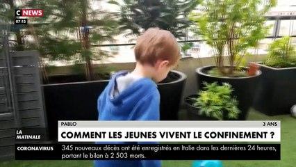 VIRUS - Confinés depuis le début de la semaine, des enfants réagissent à cette situation - Qu'en pensent-ils ? - VIDEO