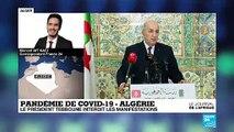 Pandémie de COVID-19 : En Algérie, le mouvement Hirak est suspendu
