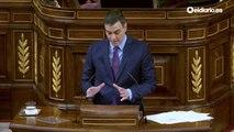 Pedro Sánchez responde a los partidos en el Congreso de los Diputados