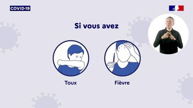 Coronavirus | Que faire en cas de symptômes ?