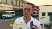 Coronavirus : saturé, l'hôpital de Mulhouse désengorgé