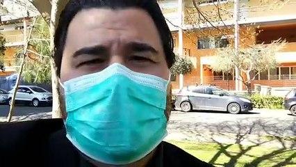 Casalpalocco, Covid 3 Hospital, visita dell'assessore Ieva