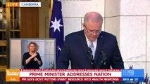 2020 MAR 18 PM Scott Morrison announces new measures to fight COVID 19 in Australia