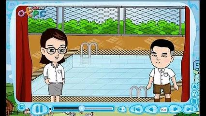 สื่อการเรียนการสอน He is in the gym ป.3 ภาษาอังกฤษ