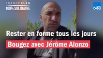 """""""Restez chez vous mais bougez-vous"""" : durant le confinement, Jérôme Alonzo vous donne rendez-vous tous les jours"""