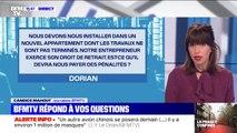 Notre entrepreneur exerce son droit de retrait pendant des travaux, devra t-il nous payer des droits de retrait ? BFMTV répond à vos questions