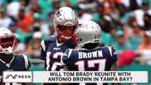 NFL Rumors: Antonio Brown, Tom Brady Reunion In Tampa?
