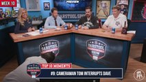 CFB Top 10 Moments: Dave Portnoy Gets Very Distracted By A Camera Guy (#9)