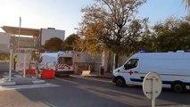 Coronavirus: arrivée des trois malades transférés de Mulhouse vers l'hôpital des armées de Toulon
