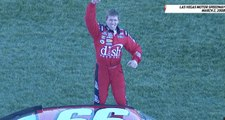 Flip out with the best of Carl Edwards' victory celebration