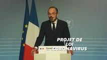 Édouard Philippe détaille les mesures du projet de loi coronavirus