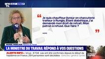 """Muriel Pénicaud: """"Si vous êtes considéré par les médecins comme une personne à risque et vulnérable, vous êtes immédiatement en arrêt maladie"""""""