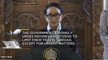 Indonesia Closes Its Borders
