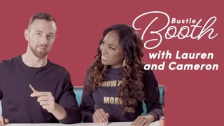 Lauren and Cameron Draw Life After Love Is Blind | Bustle Booth