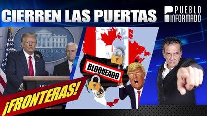 Trump anuncia restricciones en las fronteras con Canadá y México