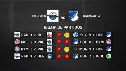 Previa partido entre Paderborn y Hoffenheim Jornada 27 Bundesliga