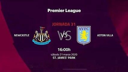 Previa partido entre Newcastle y Aston Villa Jornada 31 Premier League