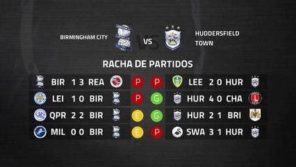 Previa partido entre Birmingham City y Huddersfield Town Jornada 40 Championship