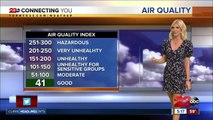 Scattered showers are likely Thursday afternoon