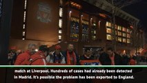 UEFA made a mistake allowing Liverpool v Atletico Madrid to go ahead - Italian epidemiologist