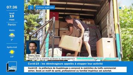 La matinale de France Bleu Paris du 19/03/2020