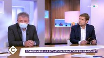 """""""C à vous"""" : Anne-Elisabeth Lemoine interpellée par son invité sur le maintien de son émission"""