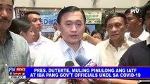 Pangulong #Duterte, muling pinulong ang IATF at iba pang gov't officials ukol sa CoVID-19
