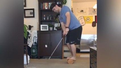 Man gebruikt quarantaine om epische golfbewegingen te oefenen