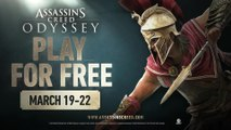 Play for Free: Assassin's Creed Odyssey (March 19-22, 2020)