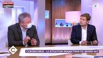 C à vous : Un médecin demande l'arrêt des plateaux télé à cause du coronavirus (vidéo)