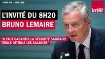 Bruno Le Maire, ministre de l'Économie, annonce le vote de moyens supplémentaires pour l'hôpital