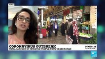 """Coronavirus outbreak in Iran: """"50 people are contracting COVID-19 every single hour"""""""