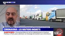 """""""Les sanitaires n'étaient plus accessibles"""": les difficultés des routiers à travailler pendant le confinement"""