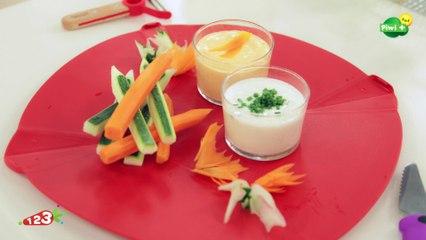 Les crayons de légumes avec 123 Cuisine sur Piwi+