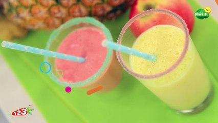 Les smoothies de fruits avec 123 Cuisine sur Piwi+