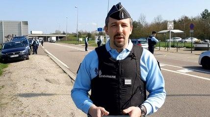 Coronavirus : contrôles de gendarmerie sur les attestations de déplacement dans l'Eure