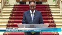 La loi portant modification de la Constitution ivoirienne promulgée par le Président Ouattara.