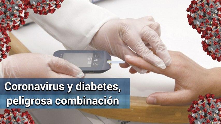 ¿Por qué el coronavirus es más peligroso para las personas con diabetes?