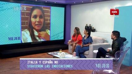 Kathy Amores llora desde España por estar lejos de su familia - Nex Panamá