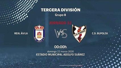 Previa partido entre Real Ávila y C.D. Bupolsa Jornada 32 Tercera División