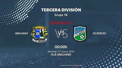 Previa partido entre Anguiano y CD Berceo Jornada 30 Tercera División