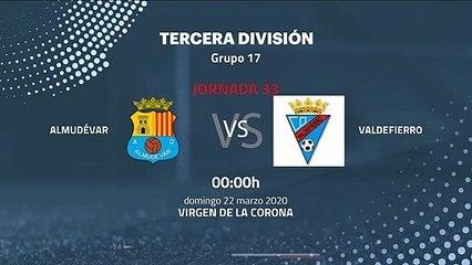 Previa partido entre Almudévar y Valdefierro Jornada 33 Tercera División