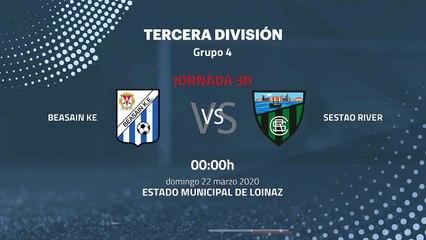 Previa partido entre Beasain KE y Sestao River Jornada 30 Tercera División