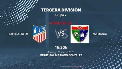 Previa partido entre Navalcarnero y Moratalaz Jornada 30 Tercera División