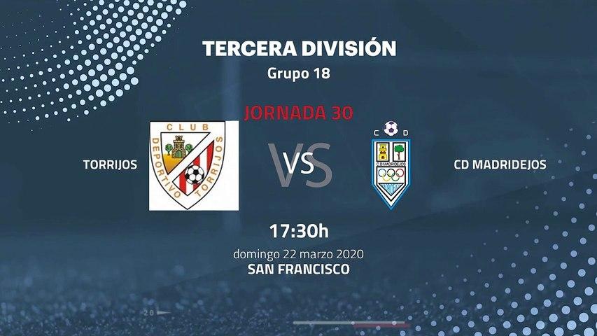 Previa partido entre Torrijos y CD Madridejos Jornada 30 Tercera División