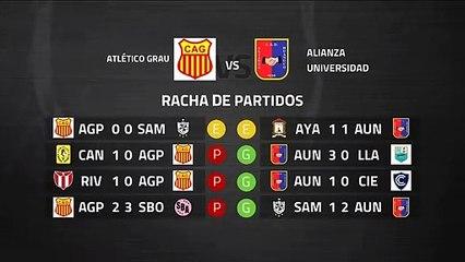 Previa partido entre Atlético Grau y Alianza Universidad Jornada 8 Perú - Liga 1 Apertura